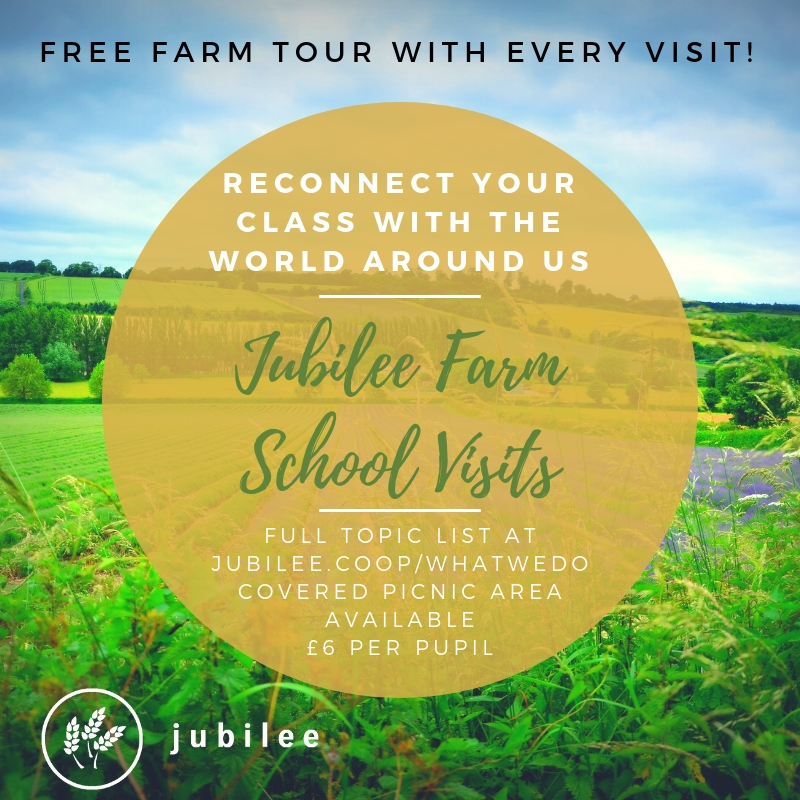 Farming for kids through school visits